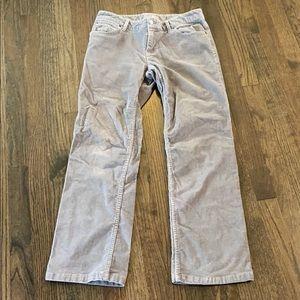 J. Jill Gray Bootcut Cords Corduroy Pants 6P EUC